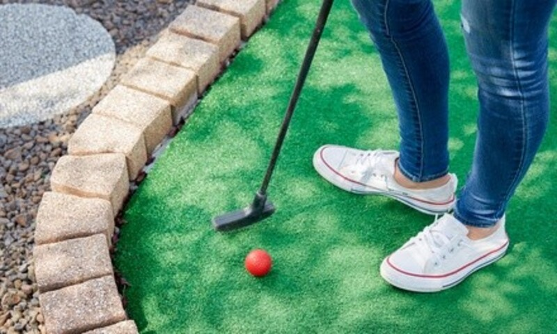 One Round of Mini Golf for One, Two, or Four at Rinky Dink Family Fun Center (Up to 43% Off)